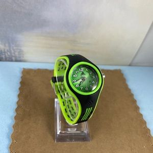 adidas Accessories - Adidas Lime Green and Black Silicone Sports  Watch